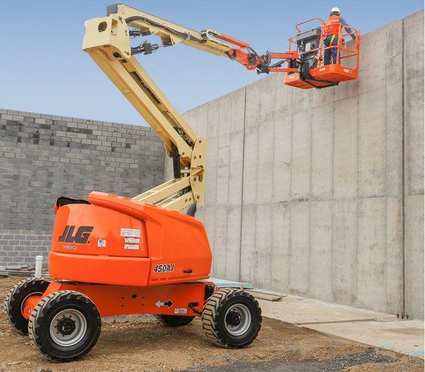 450AJ construction gallery
